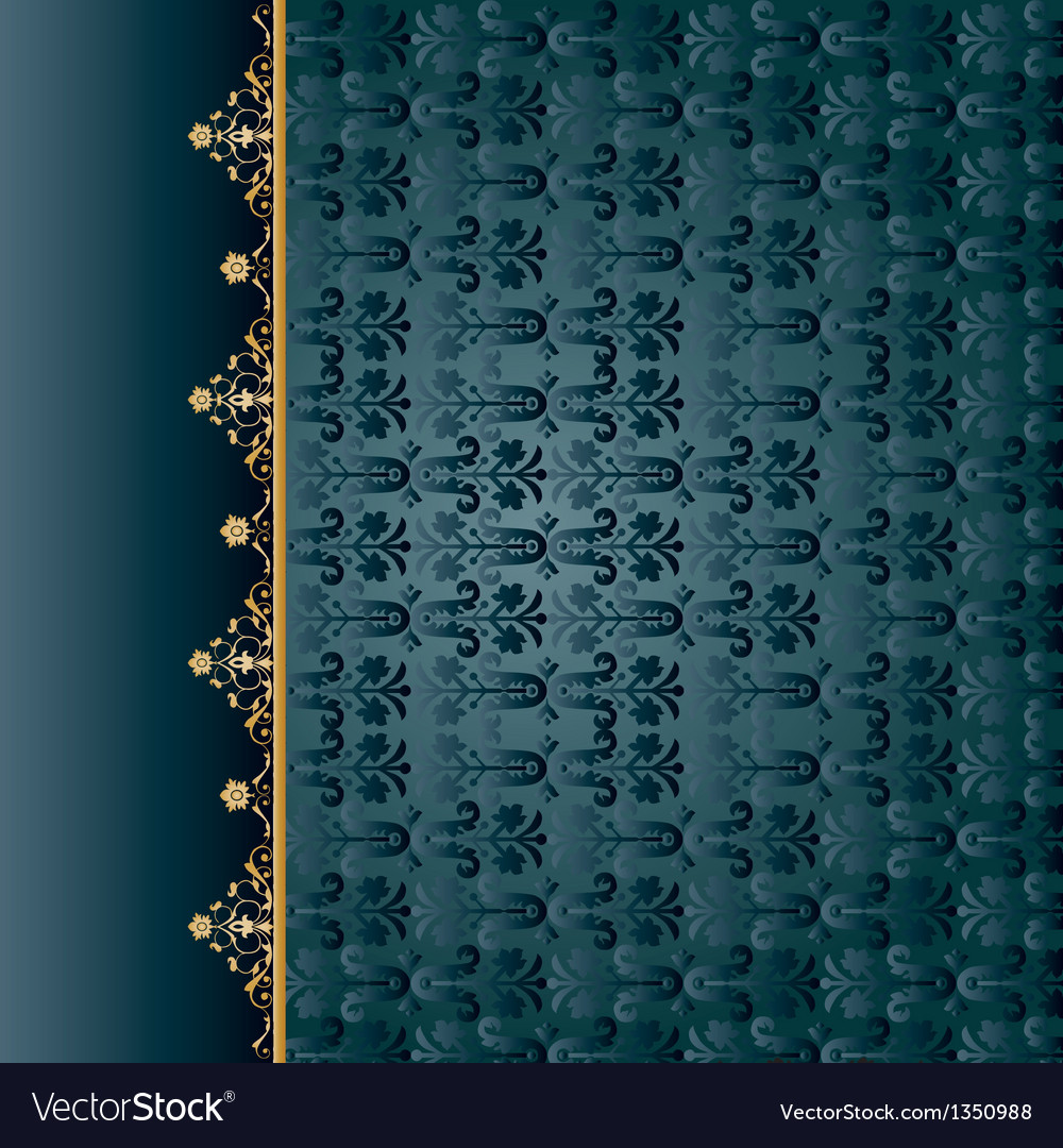 Traditional ottoman seamless pattern01 vector | Price: 1 Credit (USD $1)
