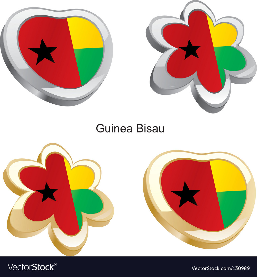 Flag of guinea vector | Price: 1 Credit (USD $1)