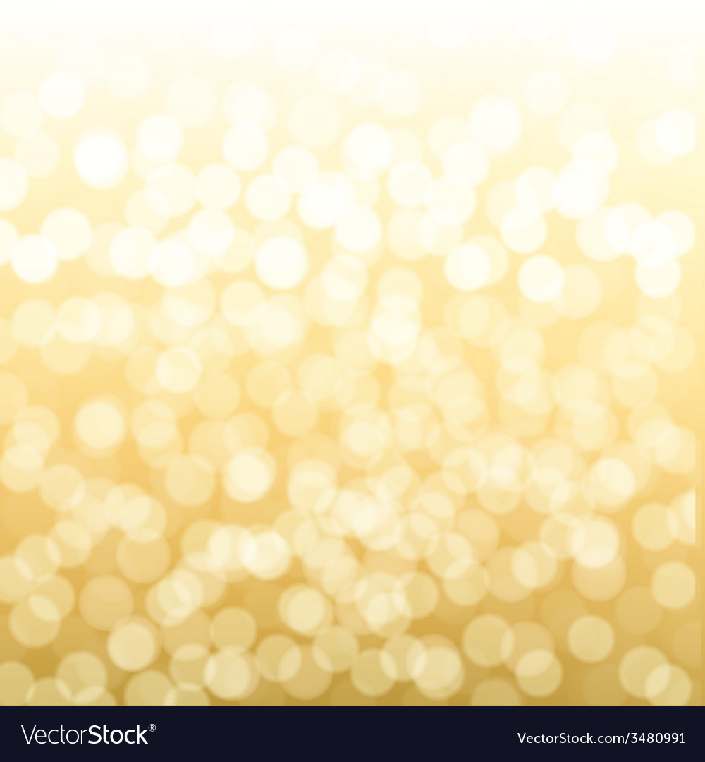 Blurred gold background vector | Price: 1 Credit (USD $1)