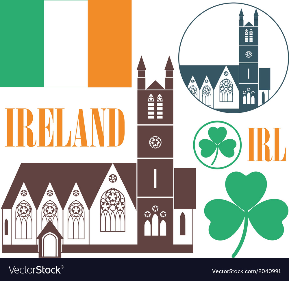 Ireland vector | Price: 1 Credit (USD $1)