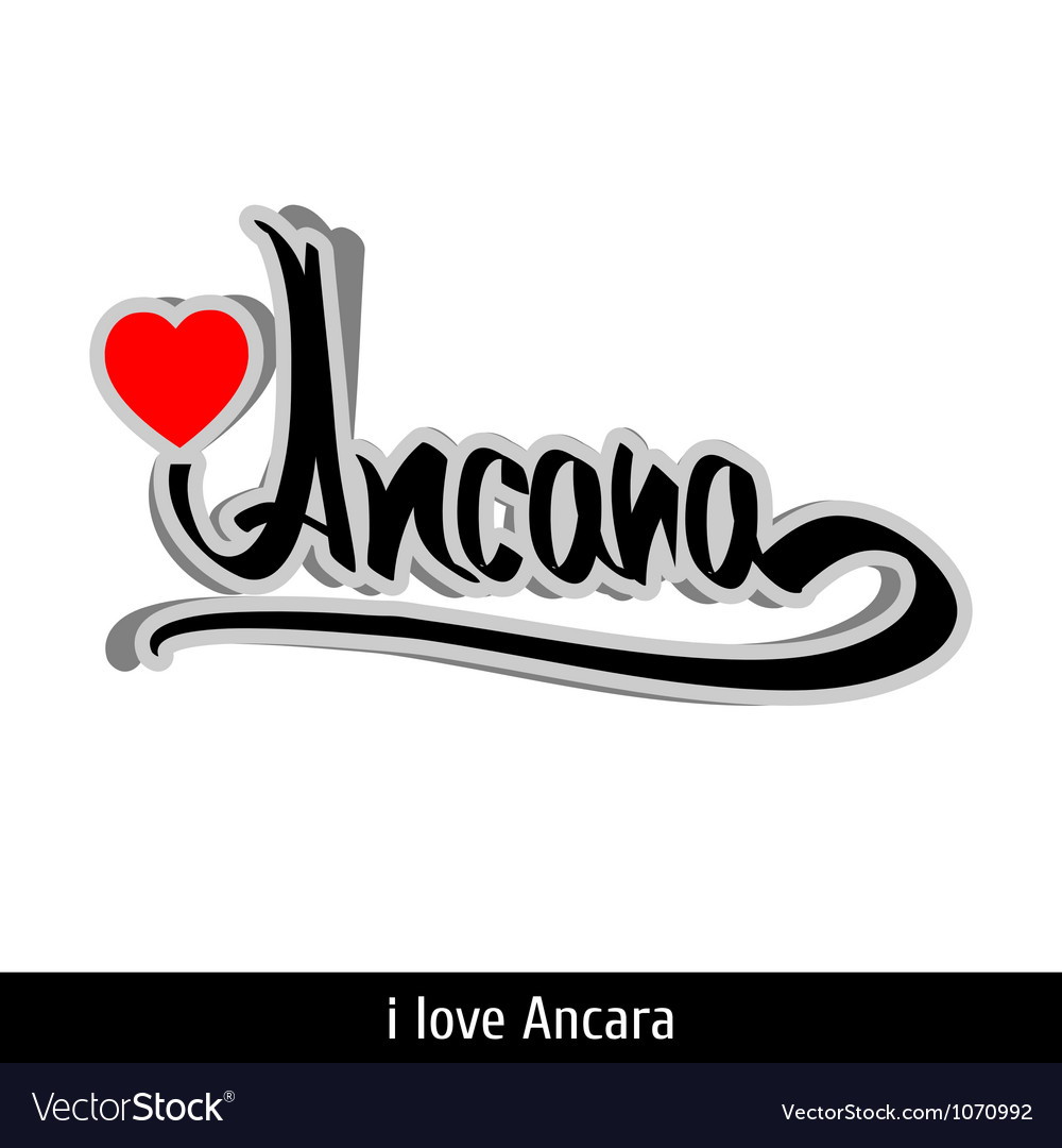 Ancara greetings hand lettering calligraphy vector   Price: 1 Credit (USD $1)