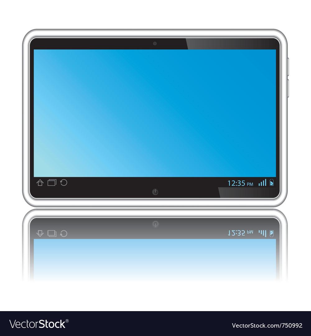 Digital tablet vector   Price: 1 Credit (USD $1)