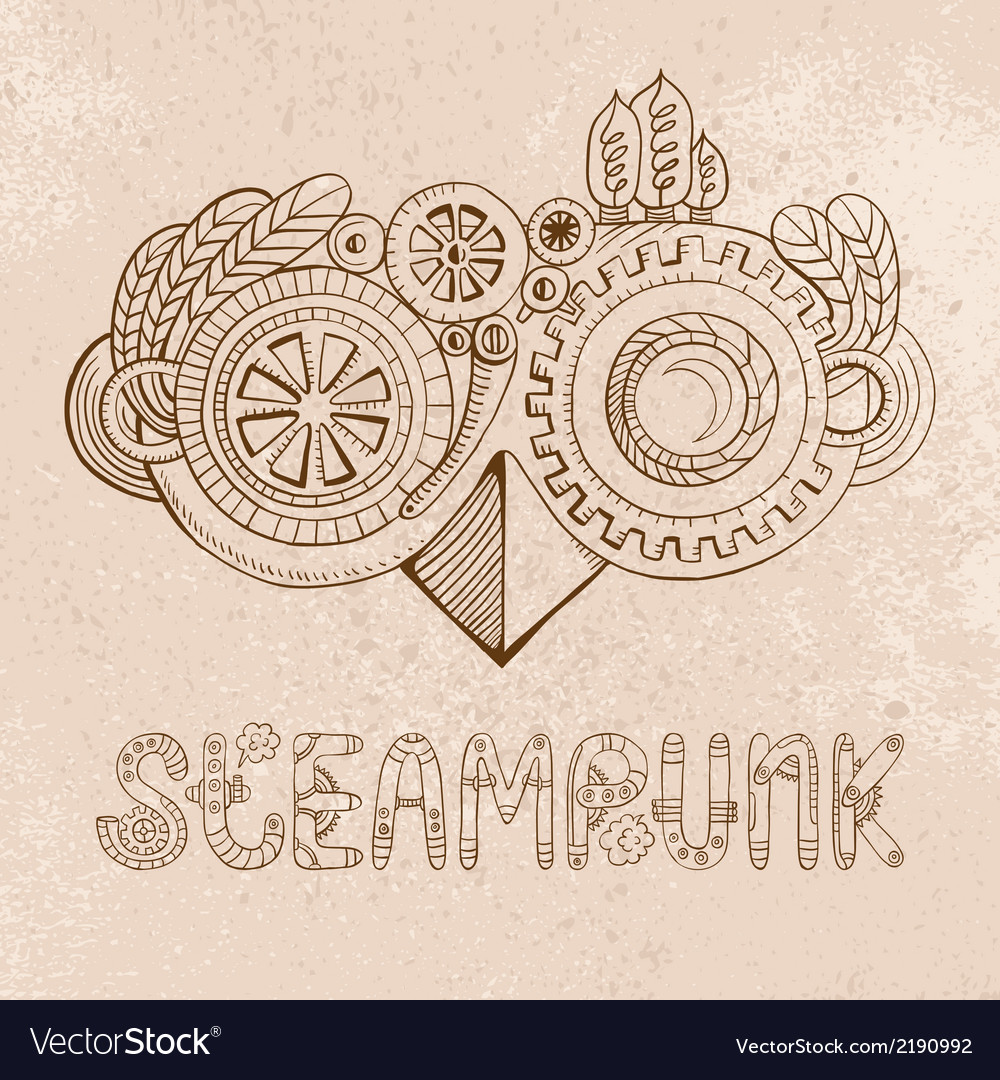 Steampunk glasses vector | Price: 1 Credit (USD $1)