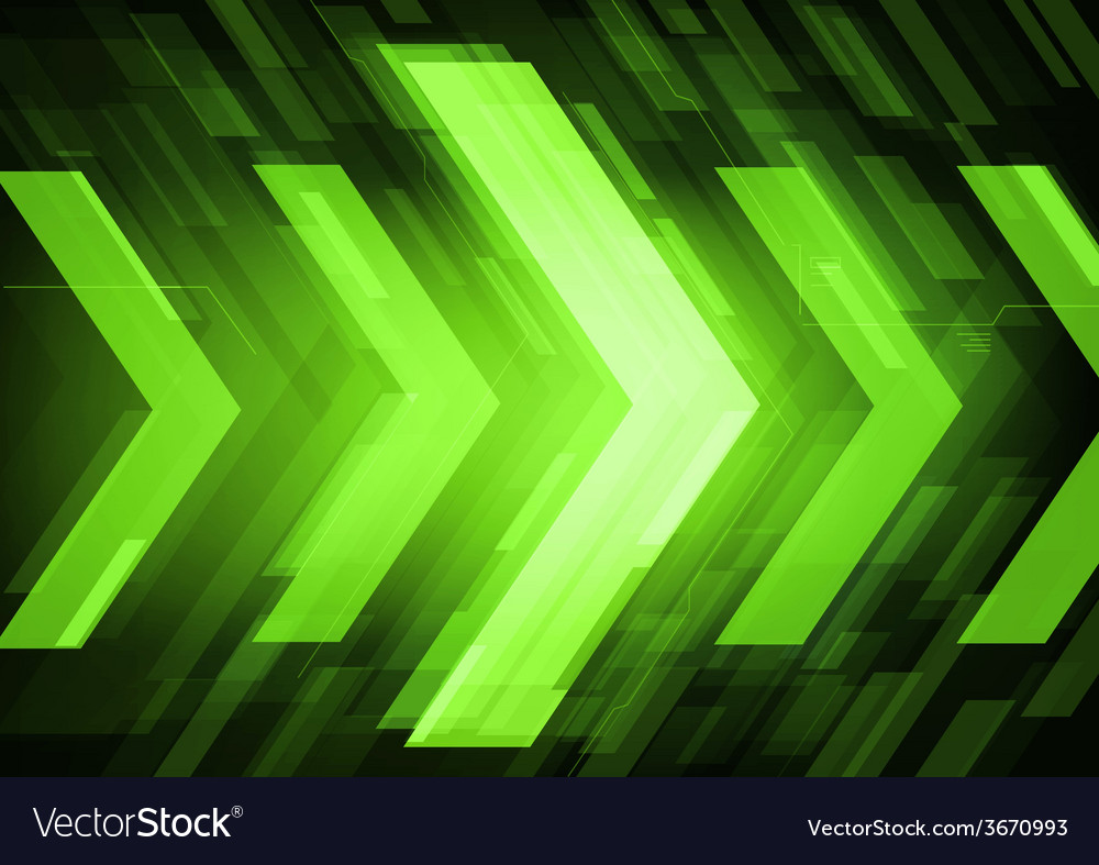 Abstract technology arrows vector | Price: 1 Credit (USD $1)