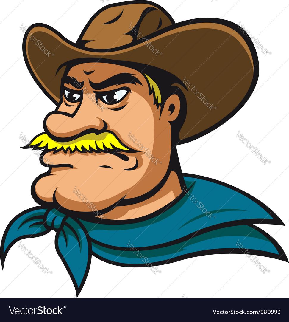 American cowboy vector | Price: 3 Credit (USD $3)