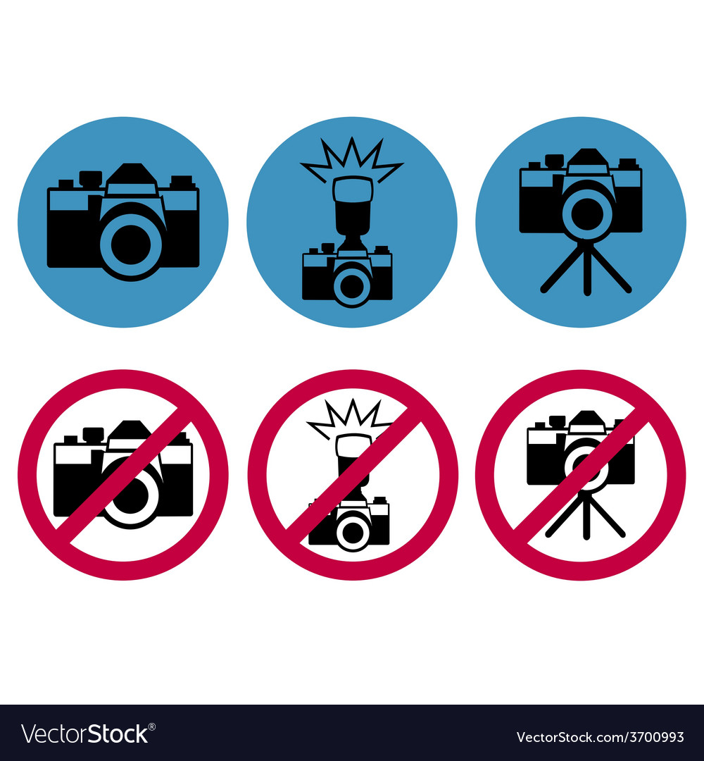 Camera round icons vector | Price: 1 Credit (USD $1)
