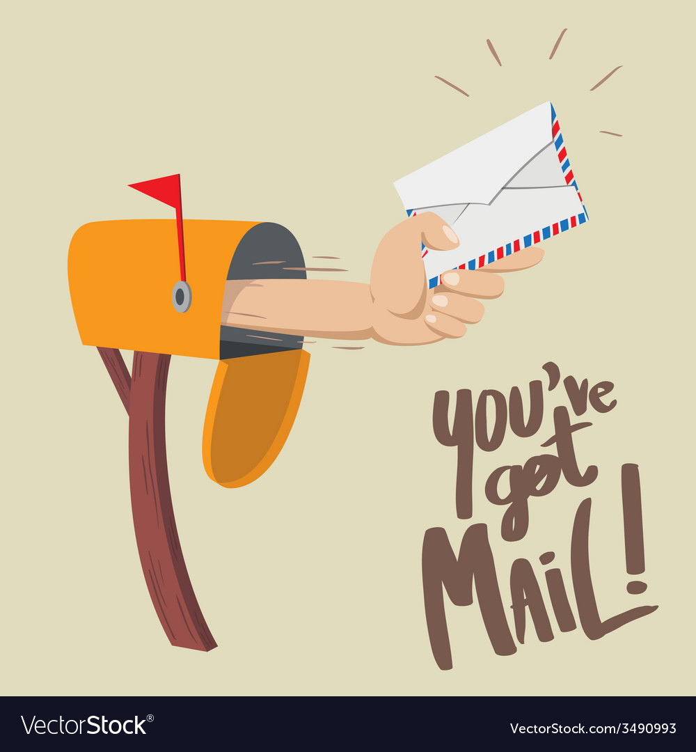 You have got mail vector | Price: 1 Credit (USD $1)