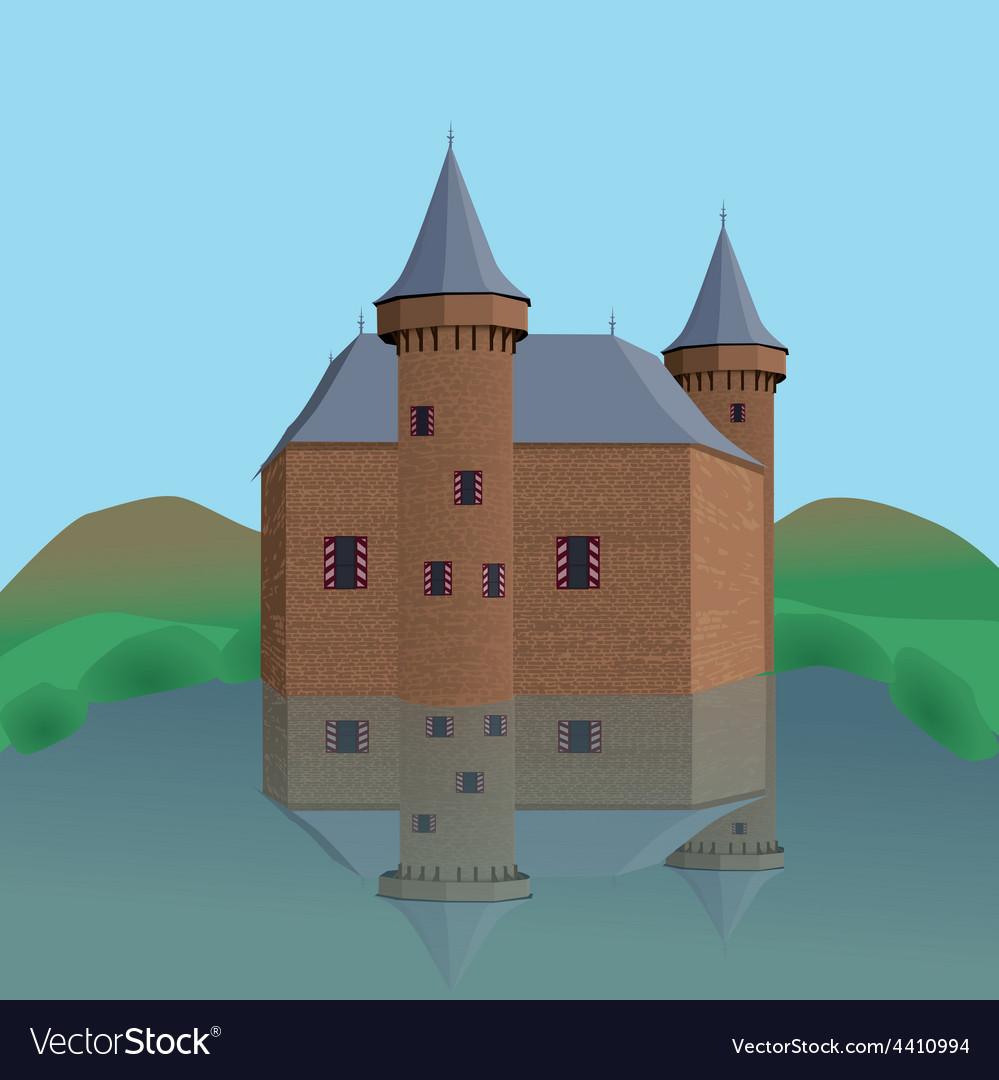 Castle vector | Price: 1 Credit (USD $1)
