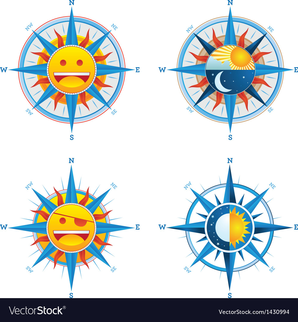 Compass cute vector | Price: 1 Credit (USD $1)