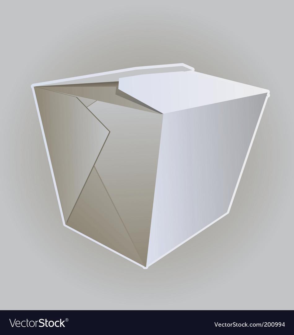 Noodle box vector | Price: 1 Credit (USD $1)