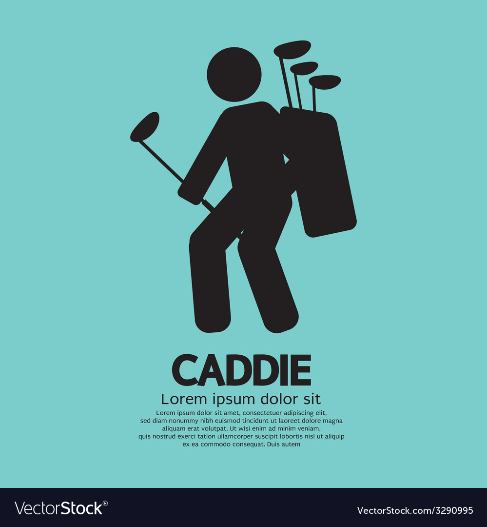 Caddie graphic sign vector | Price: 1 Credit (USD $1)