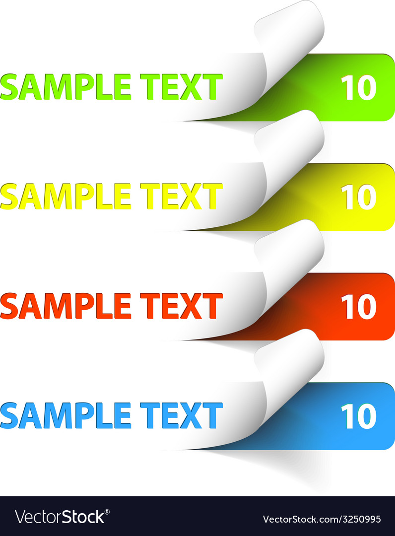 Sample stickers vector   Price: 1 Credit (USD $1)