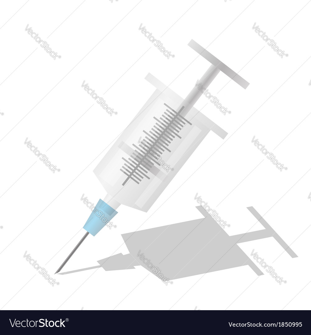 Syringe vector | Price: 1 Credit (USD $1)