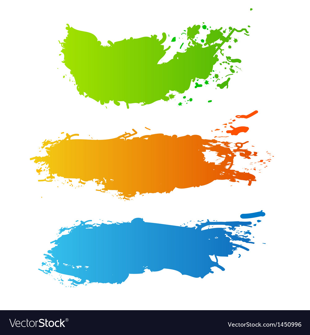 Colorful paint splash vector | Price: 1 Credit (USD $1)