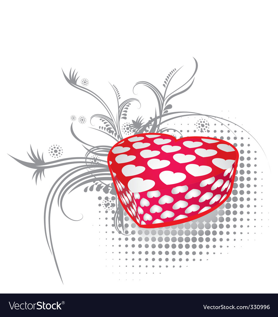 Valentines gift 3 vector | Price: 1 Credit (USD $1)
