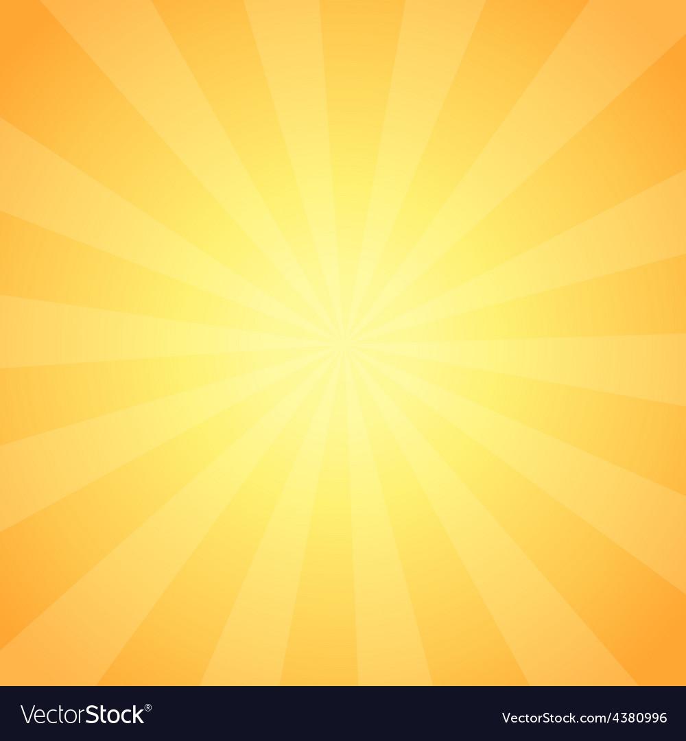Vintage sunrise shining vector | Price: 1 Credit (USD $1)