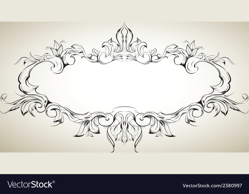 Frame with floral elements for registration 5 vector | Price: 1 Credit (USD $1)