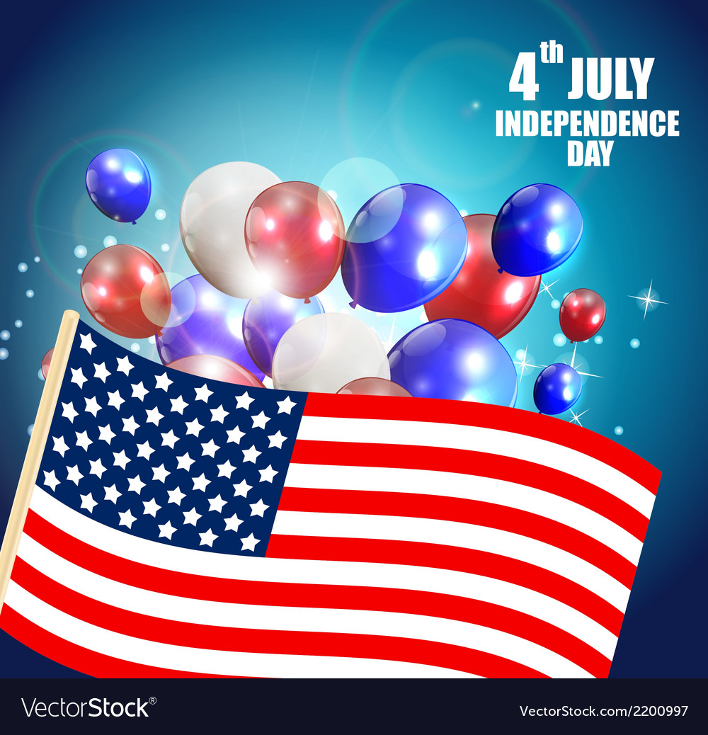 Independence day poster vector | Price: 1 Credit (USD $1)