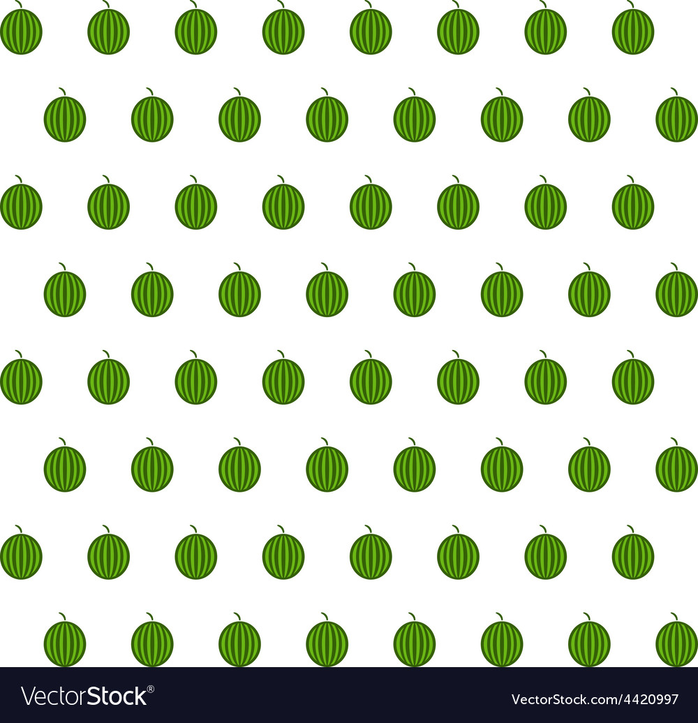Sample seamless watermelon background vector | Price: 1 Credit (USD $1)