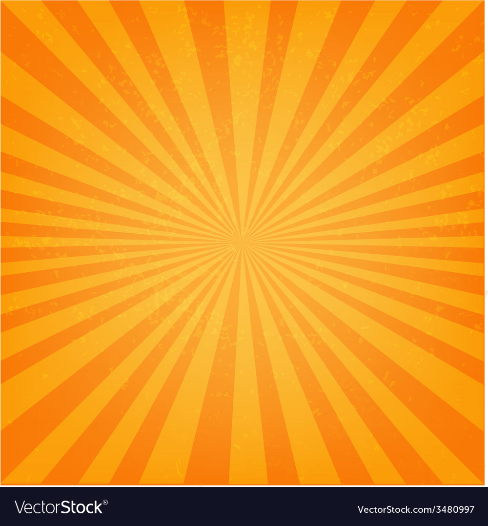 Vintage sunburst poster vector | Price: 1 Credit (USD $1)