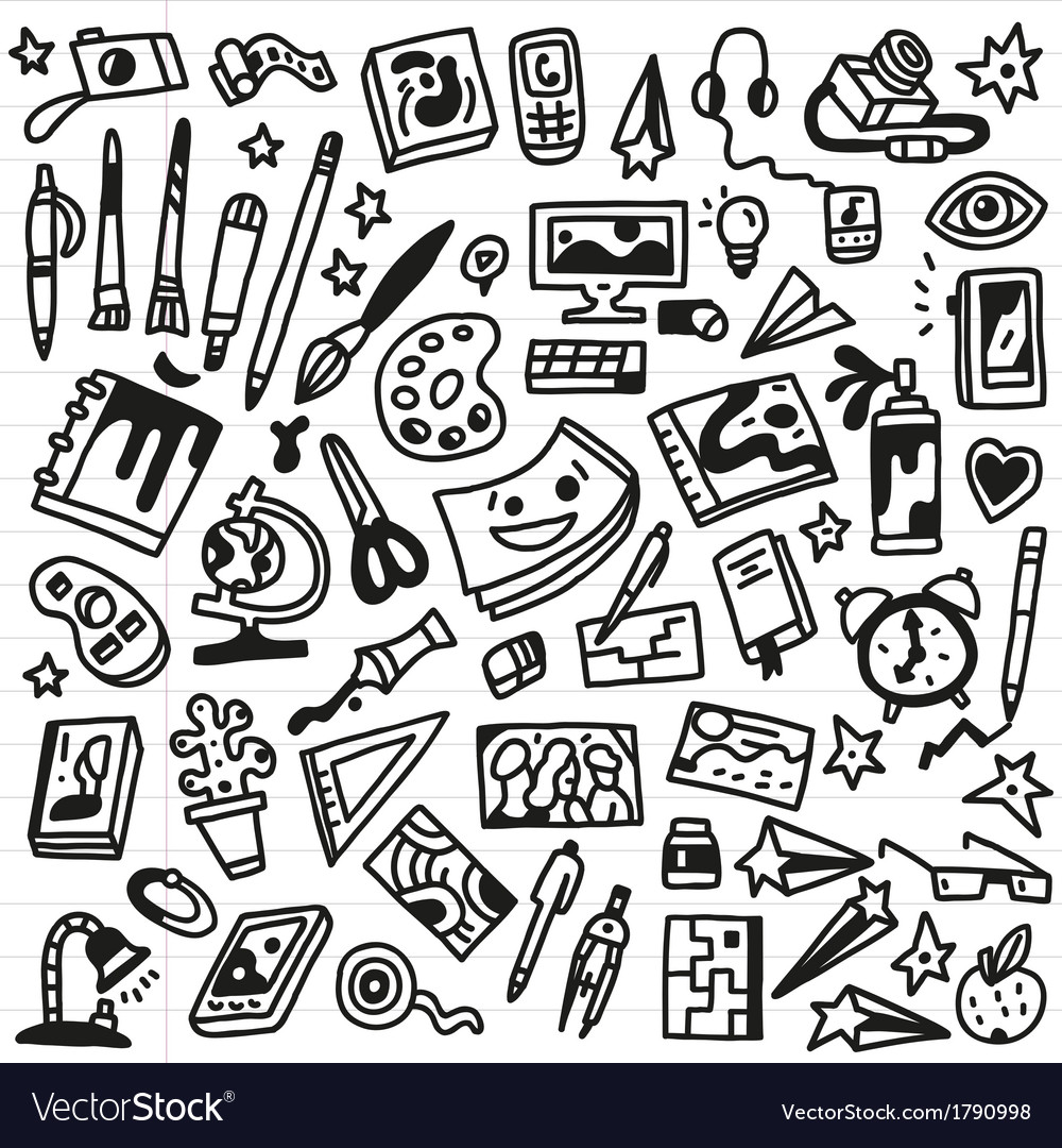 Art doodles - vector | Price: 1 Credit (USD $1)