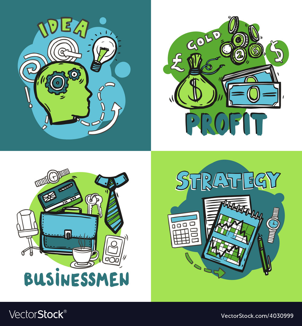 Business design concept vector | Price: 1 Credit (USD $1)