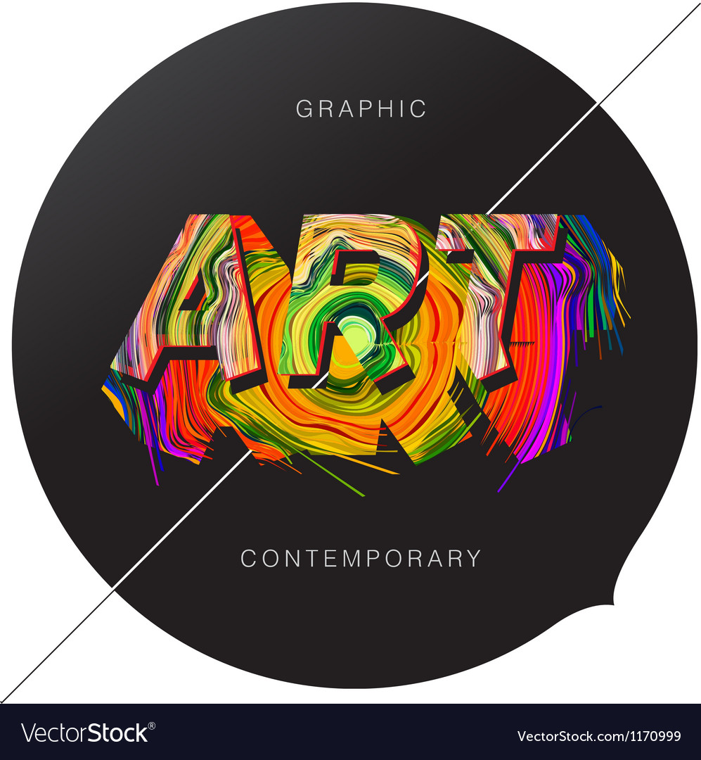 Contemporary art abstract background vector | Price: 1 Credit (USD $1)