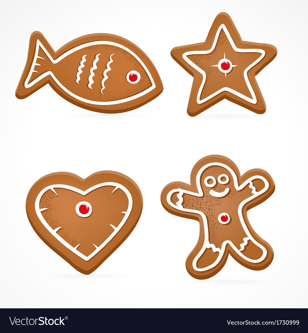 Ginger bread vector | Price: 1 Credit (USD $1)