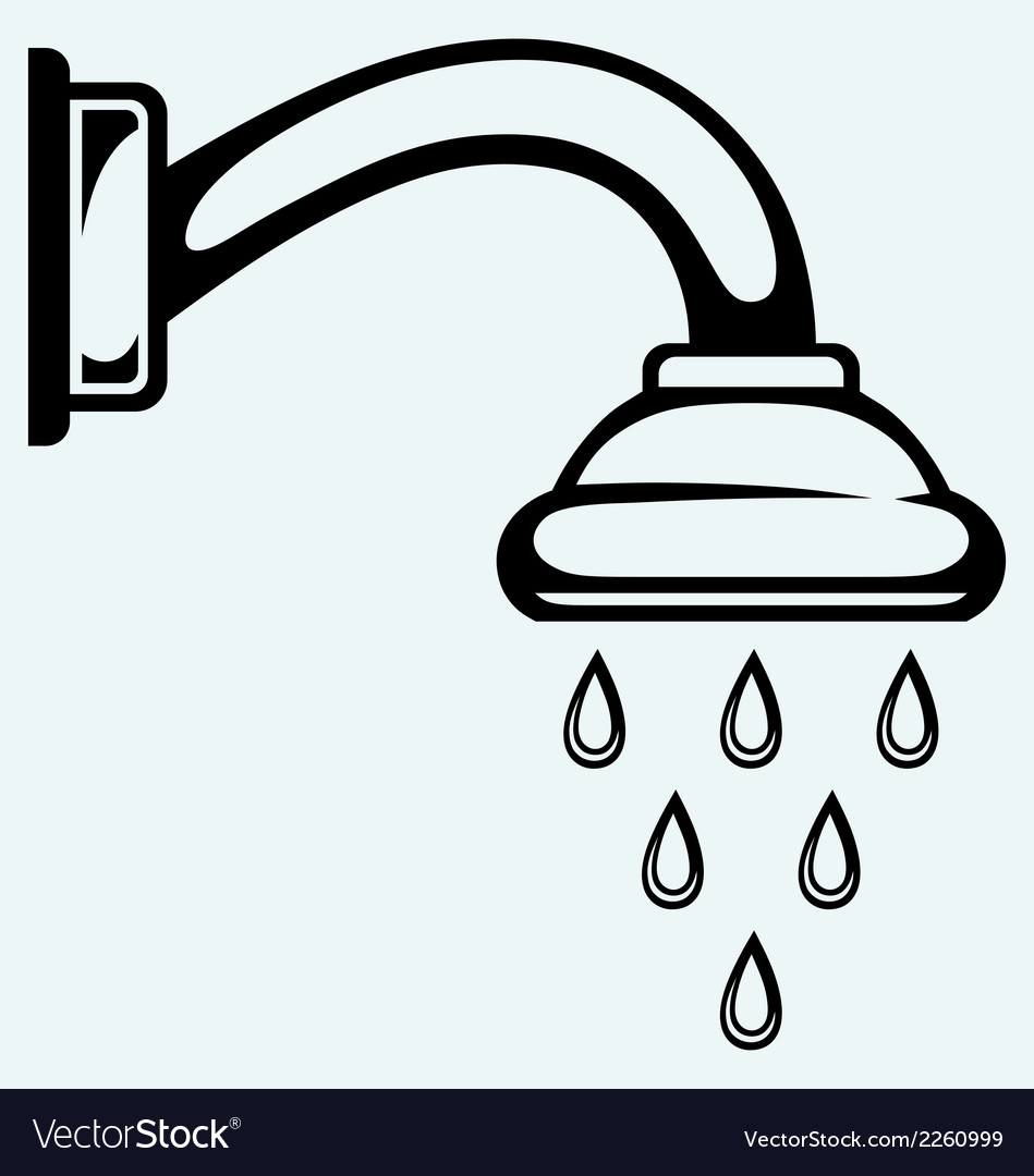 Shower head vector | Price: 1 Credit (USD $1)
