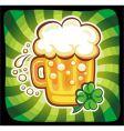 Cartoon beer vector