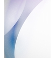 Unusual abstract blue wave template vector