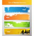 Web grunge headers vector