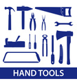 Hand tools icon set eps10 vector