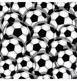 Soccer seamless texture vector