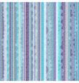 Striped blue-violet zigzag pattern vector