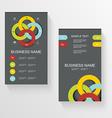 Set of modern global business design banner vector