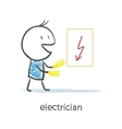 Electrician vector