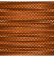 Seamless knitted melange pattern orange brown vector