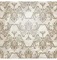 Vintage wallpaper pattern on crumpled paper vector