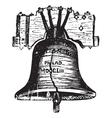 Liberty bell usa vector