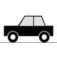 Car simple art for symbol vector