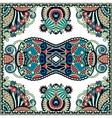 Traditional ornamental floral paisley bandanna you vector