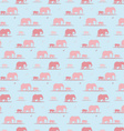 Elephants wallpaper vector
