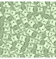Money seamless background vector