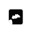 Cloud weather icon vector