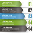 Green and dark modern design template vector