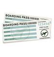 Boarding pass tickets vector