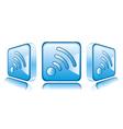 Smart phone app icons vector