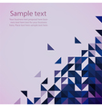 Blue modern geometrical abstract background vector