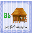 Bungalow vector